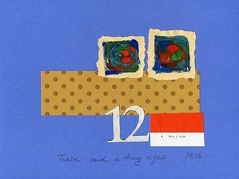 Art: Twelve and a tiny eight by Artist Gabriele Maurus