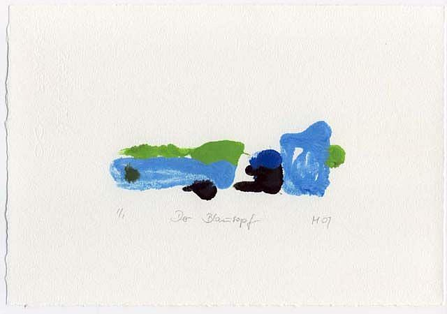 Art: Der Blautopf by Artist Gabriele Maurus