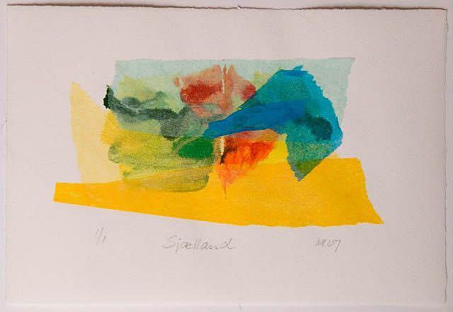 Art: Sjælland by Artist Gabriele Maurus