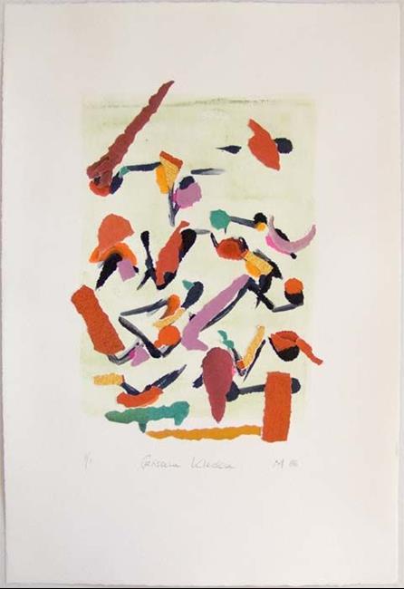 Art: GERISSENE KLECKSE by Artist Gabriele Maurus