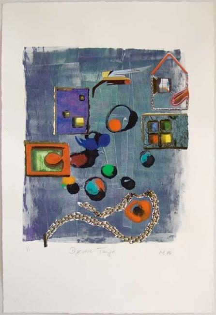 Art: DIGESTIVE TANGO by Artist Gabriele Maurus