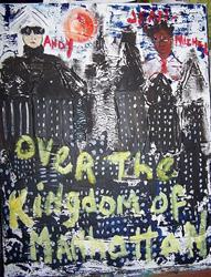 Art: Over the Kingdom of Manhattan SOLD by Artist Nancy Denommee