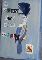 Art: A Very Odd Bird Indeed by Artist Nancy Denommee