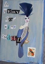 Art: A Very Odd Bird Indeed by Artist Nancy Denommee