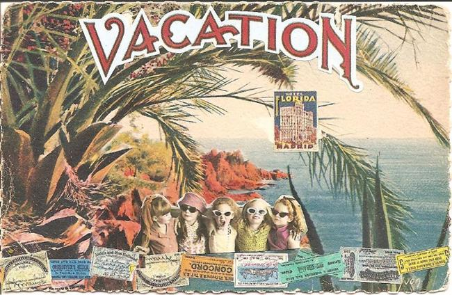 Art: vacation by Artist Nancy Denommee