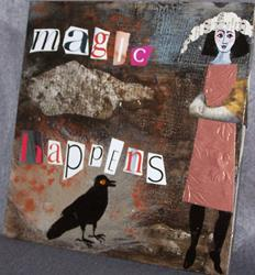 Art: Magic Happens by Artist Nancy Denommee
