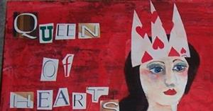 Detail Image for art Queen of Hearts