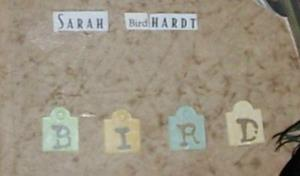 Detail Image for art Sarah Birdhardt