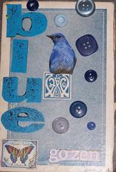 Art: Zen in Blue by Artist Nancy Denommee