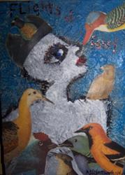 Art: Flights of Fancy SOLD by Artist Nancy Denommee