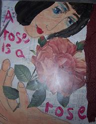Art: A Rose is a Rose by Artist Nancy Denommee