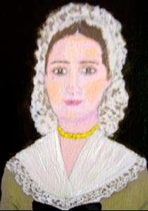 Detail Image for art Colonial Lady (Sold)