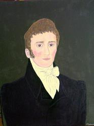 Art: Colonial Gentleman (Sold) by Artist Fran Caldwell