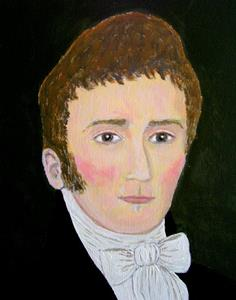 Detail Image for art Colonial Gentleman (Sold)