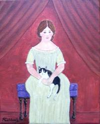 Art: Abigail (Sold) by Artist Fran Caldwell