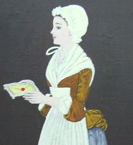 Detail Image for art The Letter (Sold)