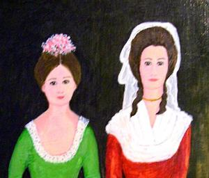 Detail Image for art Letitia and Harriet