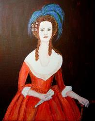Art: M'Lady (Sold) by Artist Fran Caldwell