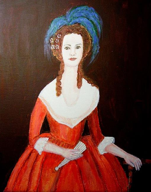Art: M'Lady (Sold) by Artist Fran Caldwell