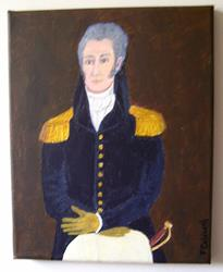 Art: The Captain (Sold) by Artist Fran Caldwell