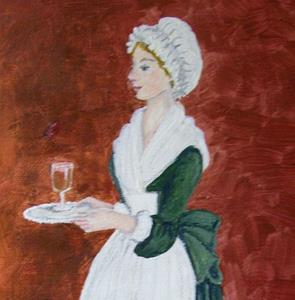 Detail Image for art Afternoon Tea for Madam