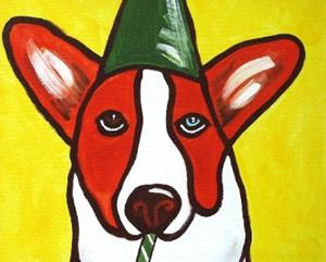 Detail Image for art Color and Motion: Lazarus Party Pup