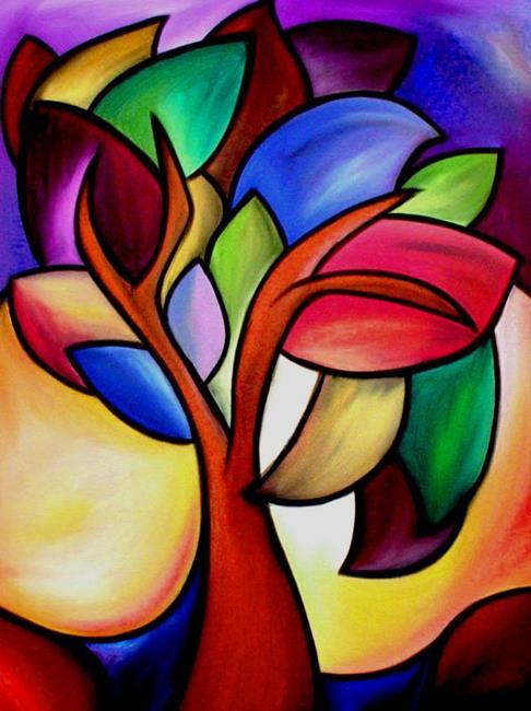Art: Flowing Colors - Color 100 by Artist Thomas C. Fedro