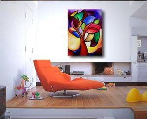 Detail Image for art Flowing Colors - Color 100
