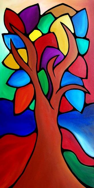 Art: Growth Spurt - Color 109 by Artist Thomas C. Fedro