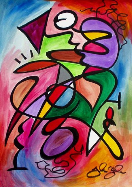 Art: Hangalouie by Artist Thomas C. Fedro