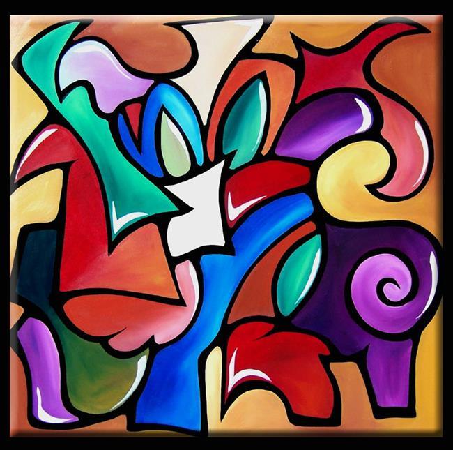 Art: Premium Blend - Color 115 by Artist Thomas C. Fedro