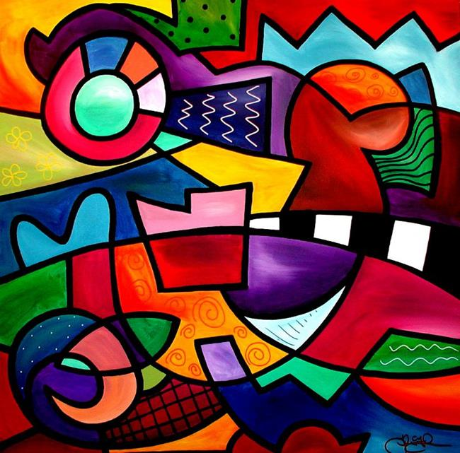 Art: It Can't Be This, It Can't Be That - Color 96 by Artist Thomas C. Fedro