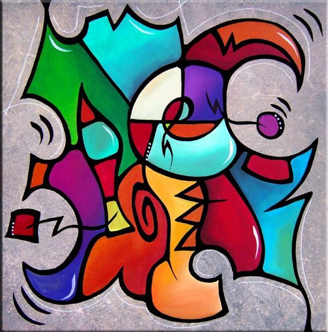 Art: Jambalaya - Color 104 by Artist Thomas C. Fedro