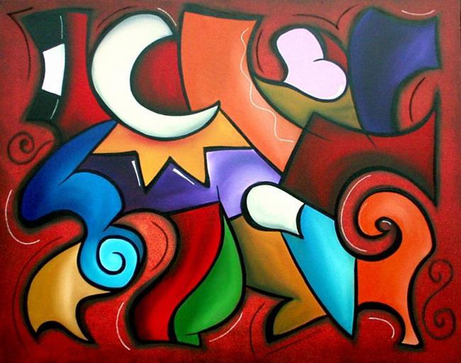 Art: Color 80 by Artist Thomas C. Fedro
