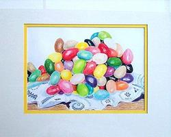 Art: Mountain of Jelly Beans by Artist Ulrike 'Ricky' Martin