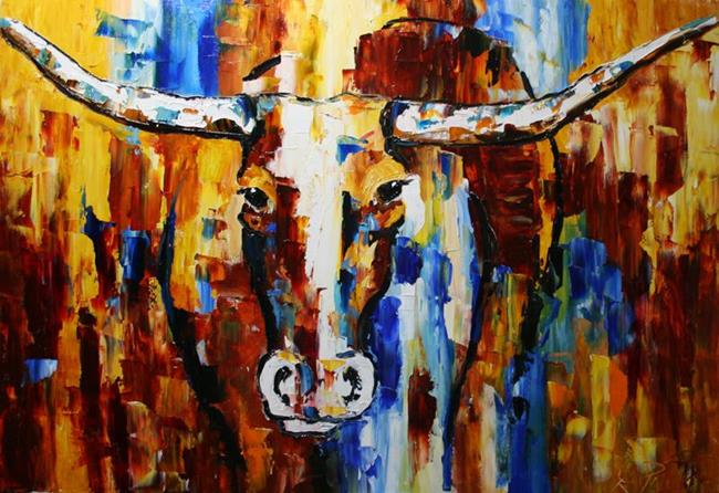 Art: Chicago Bound Bevo by Artist Laurie Justus Pace