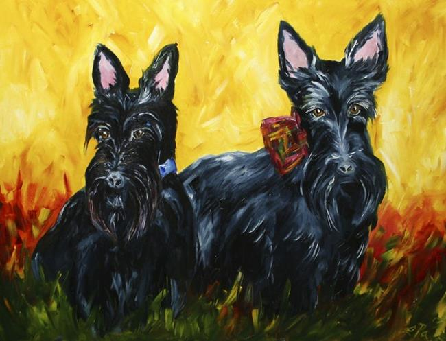 Art: Ricky and Lucy by Artist Laurie Justus Pace