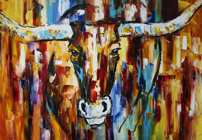 Art: The Strength of Texas by Artist Laurie Justus Pace