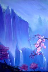 Art: cherryblossompainting28 by Artist Theo Dapore