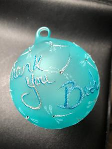 Detail Image for art Thank You Beth 2017 / Tiffany Blue Dragonfly Ball