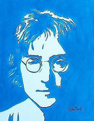 Art: John Lennon - sold by Artist Ulrike 'Ricky' Martin