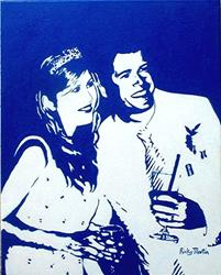 Art: Lucy and Clark by Artist Ulrike 'Ricky' Martin
