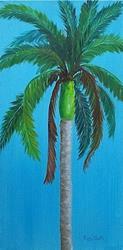 Art: Royal Palm Tree - sold by Artist Ulrike 'Ricky' Martin