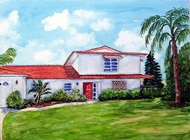 Art: Memories of Marco Island by Artist Ulrike 'Ricky' Martin