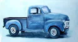 Art: Dad's  Old Truck - NFS by Artist Ulrike 'Ricky' Martin