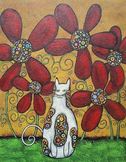 Art: Magical Garden II by Artist Juli Cady Ryan