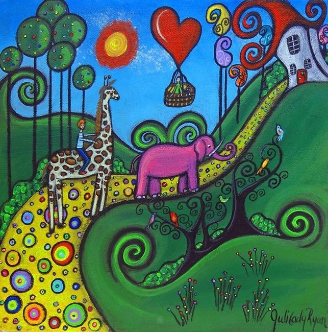 Art: The Journey by Artist Juli Cady Ryan