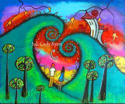 Art: Celebrating Love by Artist Juli Cady Ryan