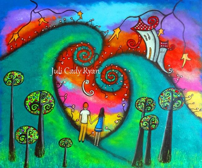 Art: Celebrating Love by Artist Juli Cady Ryan