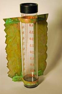 Detail Image for art Dogs and Cats Rain Gauge